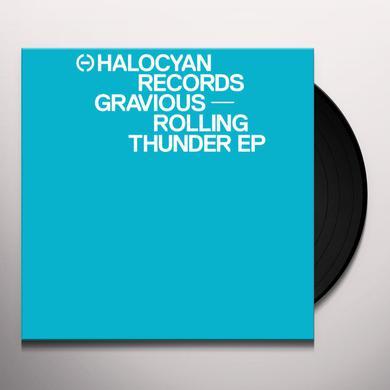 Gravious ROLLING THUNDER EP Vinyl Record