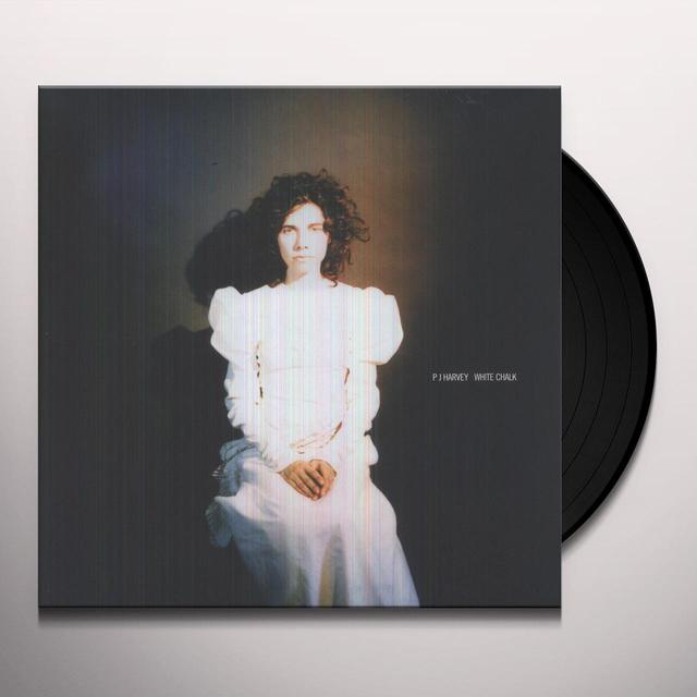 Pj Harvey WHITE CHALK Vinyl Record - UK Import