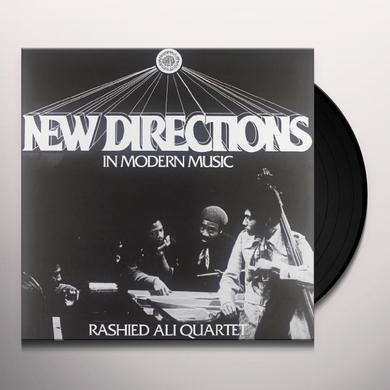 Rashied Quartet Ali NEW DIRECTIONS IN MODERN MUSIC Vinyl Record - Italy Import