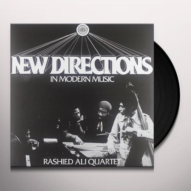 Rashied Quartet Ali NEW DIRECTIONS IN MODERN MUSIC Vinyl Record - Italy Import