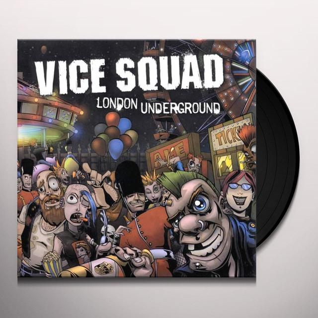 Vice Squad LONDON UNDERGROUND Vinyl Record