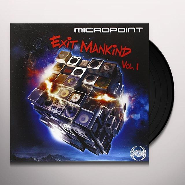 Micropoint EXIT MANKIND (FRA) Vinyl Record