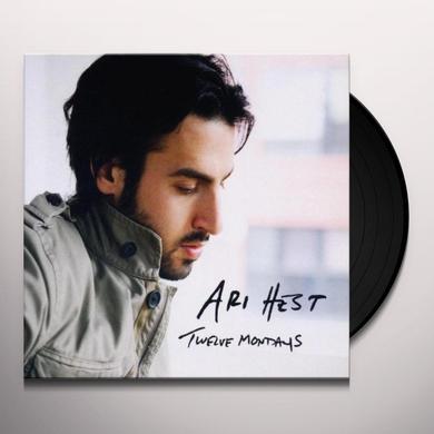 Ari Hest TWELVE MONDAYS Vinyl Record - Portugal Release