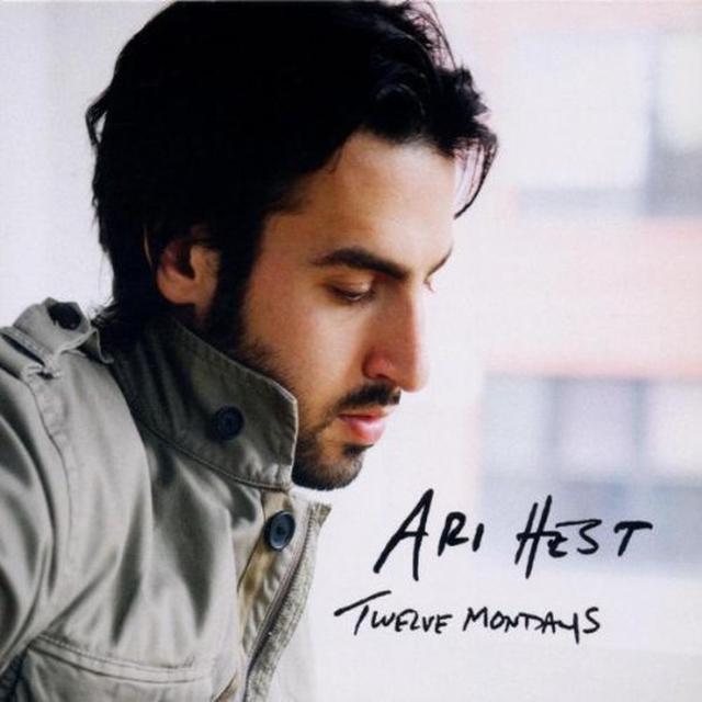 Ari Hest TWELVE MONDAYS Vinyl Record - Portugal Import