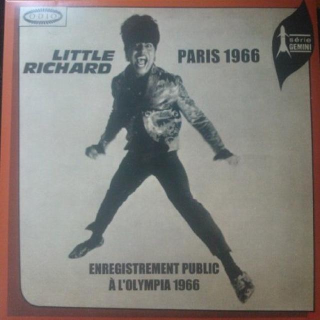 Little Richard PARIS 1966 Vinyl Record - Holland Import