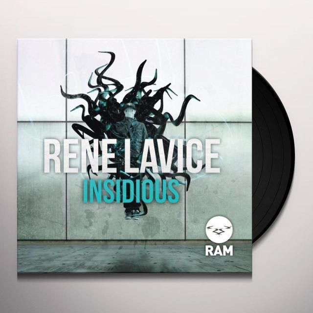 Rene Lavice INSIDIOUS (FRA) Vinyl Record