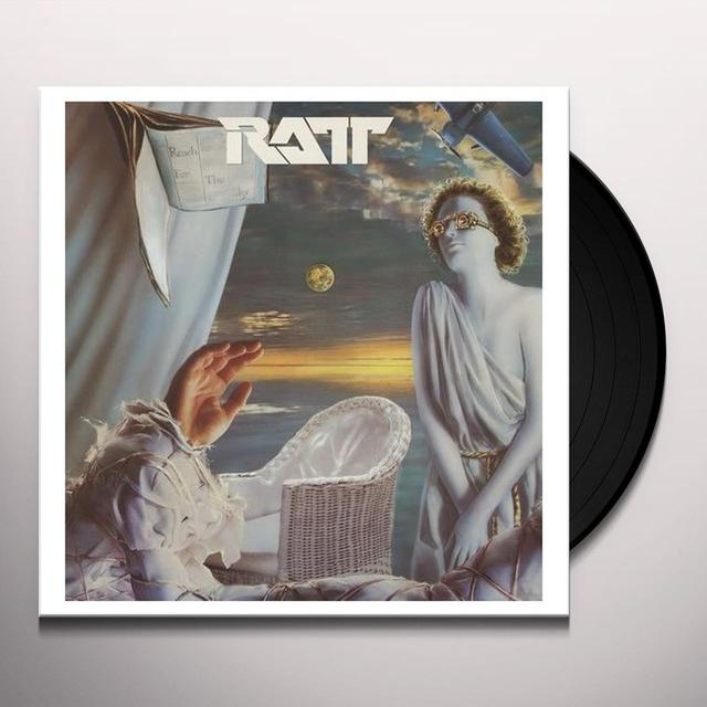Ratt REACH FOR THE SKY Vinyl Record - Sweden Import