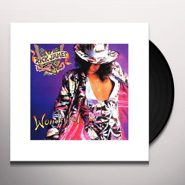Rick James WONDERFUL Vinyl Record - Sweden Release