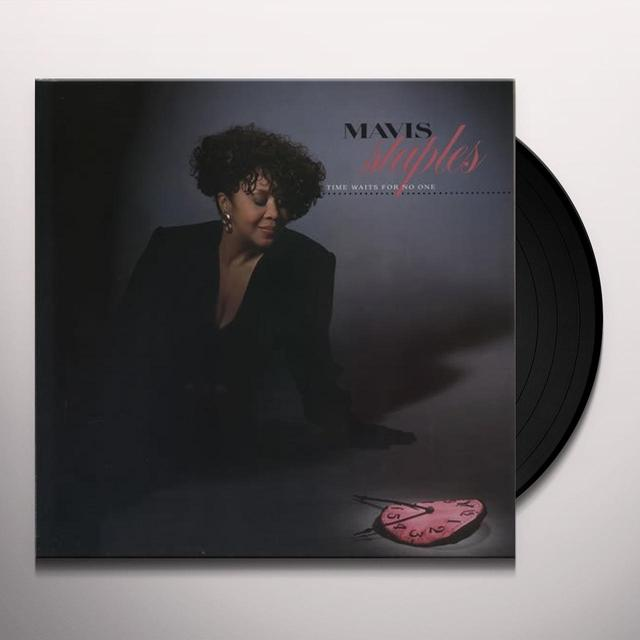 Mavis Staples TIME WAITS FOR NO ONE Vinyl Record - Sweden Release