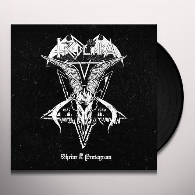 Treblinka SHRINE OF THE PENTAGRAM Vinyl Record - UK Release