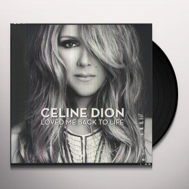 Celine Dion LOVED ME BACK TO LIFE Vinyl Record