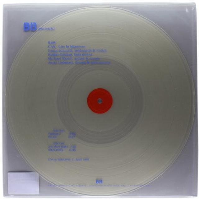 Can LIVE IN HANNOVER Vinyl Record - Italy Import