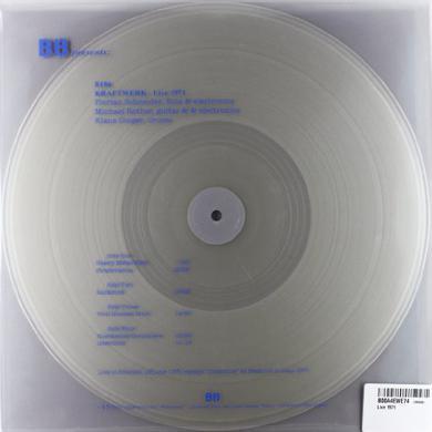 Kraftwerk LIVE 1971 Vinyl Record