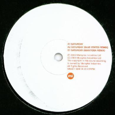 J Xaverre SATURDAY Vinyl Record