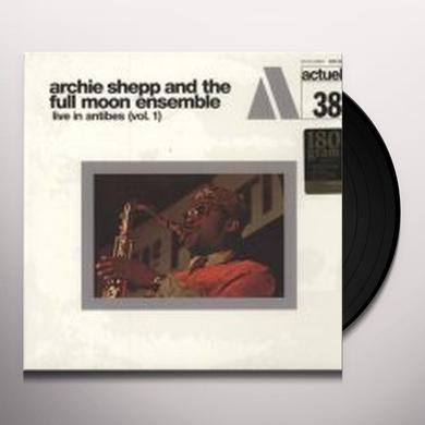Archie Shepp VOL. 1-LIVE IN ANTIBES (FRA) Vinyl Record