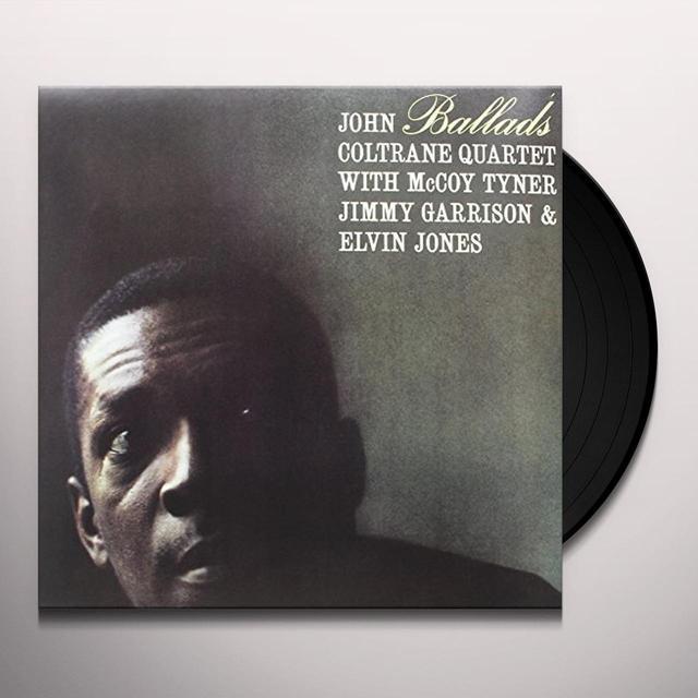 John Coltrane BALLADS (FRA) Vinyl Record