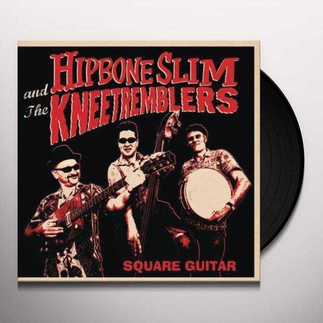 Hipbone Slim & Kneetremblers SQUARE GUITAR Vinyl Record