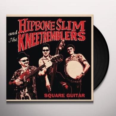 Hipbone Slim & Kneetremblers SQUARE GUITAR Vinyl Record - UK Import