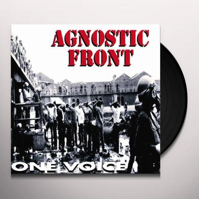 Agnostic Front ONE VOICE (GER) Vinyl Record