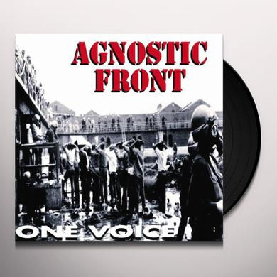 Agnostic Front ONE VOICE (GER) Vinyl Record