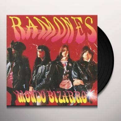Ramones MONDO BIZARRO Vinyl Record - UK Release