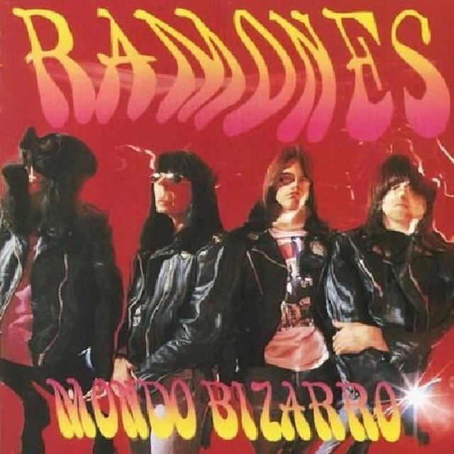 Ramones MONDO BIZARRO Vinyl Record - UK Import