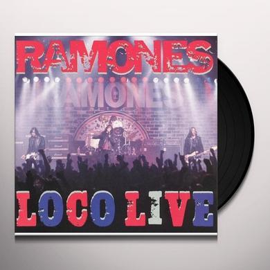 Ramones LOCO LIVE Vinyl Record - UK Import
