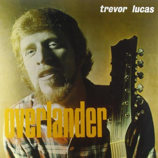 Trevor Lucas OVERLANDER Vinyl Record - Italy Import