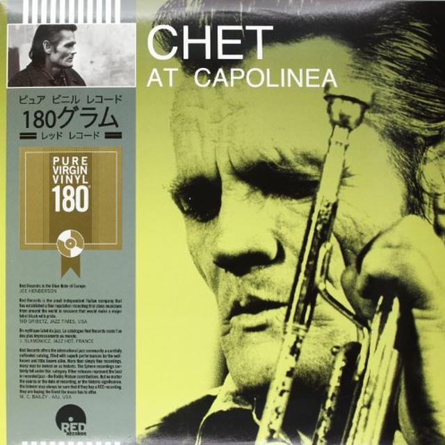 Chet Baker AT CAPOLINEA Vinyl Record - Italy Import