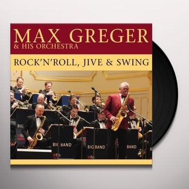 Max Greger ROCK N ROLL JIVE & SWING/& HIS ORCHESTRA Vinyl Record - Holland Import