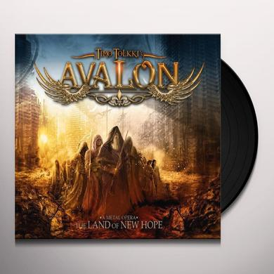 Timo Tolkki'S Avalon LAND OF NEW HOPE A METAL OPERA Vinyl Record