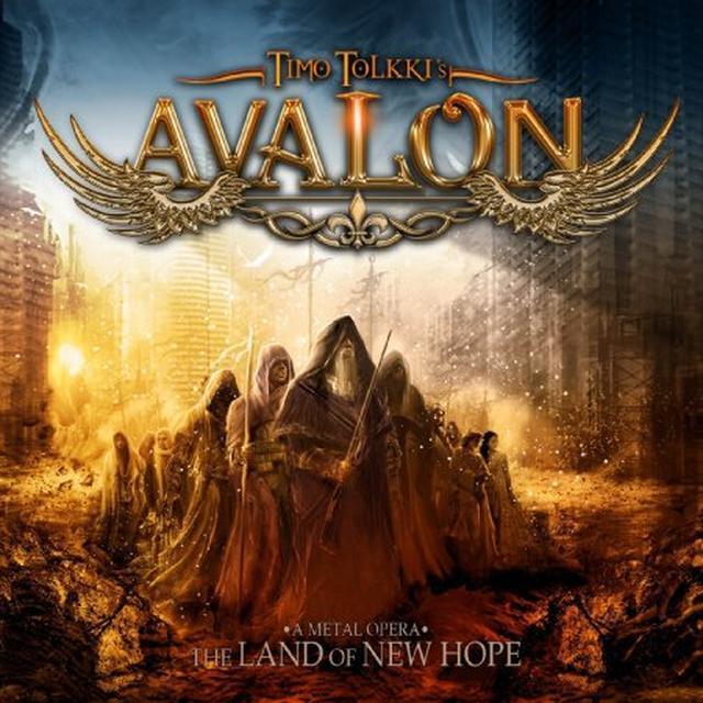 Timo Tolkki'S Avalon LAND OF NEW HOPE A METAL OPERA Vinyl Record