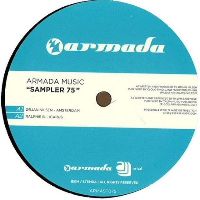 ARMADA MUSIC SAMPLER 75 Vinyl Record - Holland Release