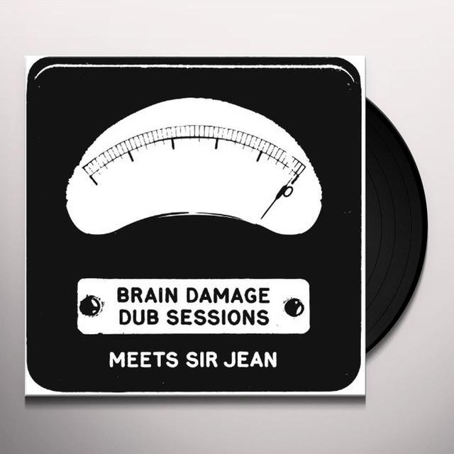Brain Damage DUB SESSIONS Vinyl Record