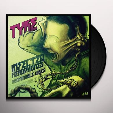 Tyke INFECTED HEADPHONES Vinyl Record - Holland Import