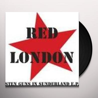 Red London STEN GUNS IN SUNDERLAND Vinyl Record - Holland Import