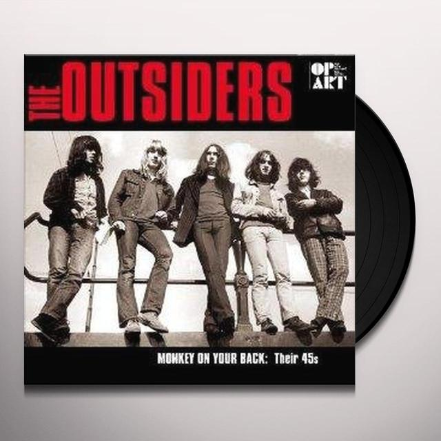 Outsiders MONKEY ON YOUR BACK-45'S ALL REMASTERED RECORDINGS Vinyl Record