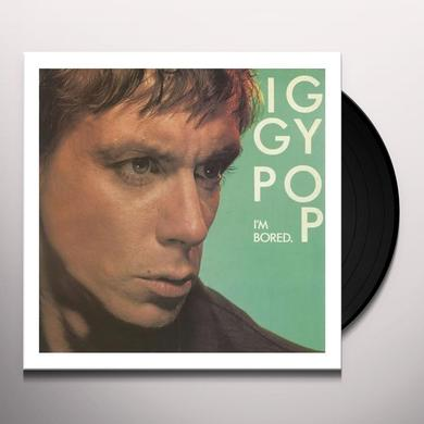 Iggy Pop I'M BORED/AFRICAN MAN Vinyl Record
