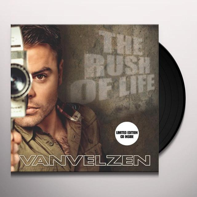 Van Velzen RUSH OF LIFE Vinyl Record - Holland Import