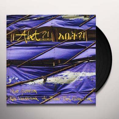 Ken Vandermark & Paal Ni ABETDIFT AB BAAR & MATS GUSTAFSSON Vinyl Record
