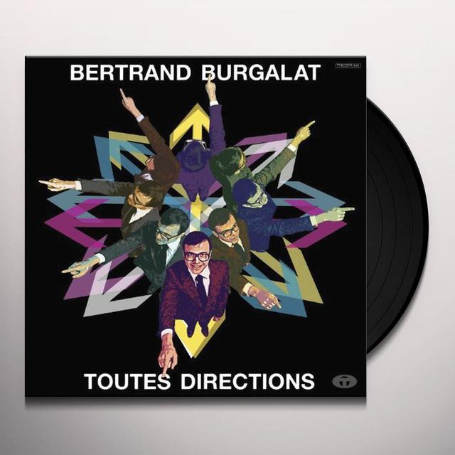 Bertrand Burgalat TOUTES DIRECTIONS Vinyl Record - Holland Release