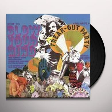 Unfolding HOW TO BLOW YOUR MIND Vinyl Record - Holland Import