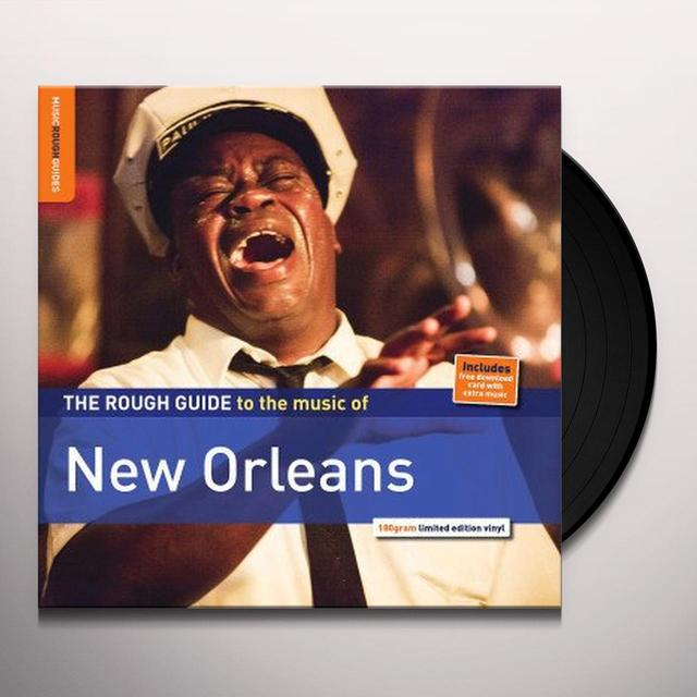 ROUGH GUIDE TO NEW ORLEANS Vinyl Record - Holland Release