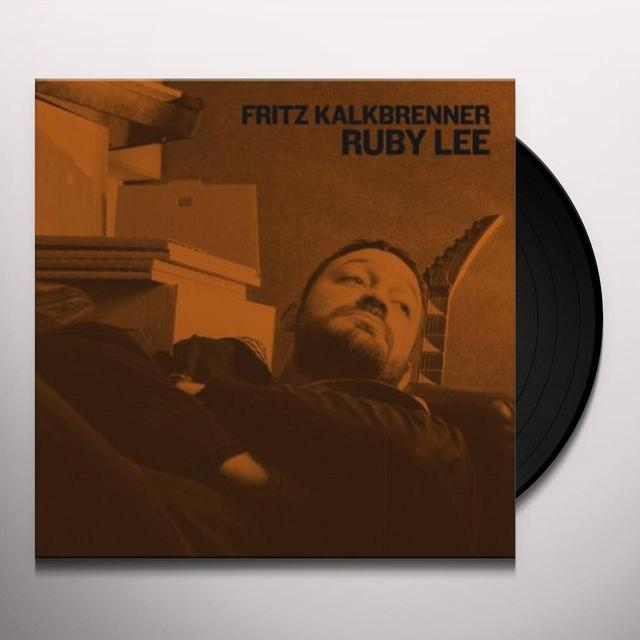 Fritz Kalkbrenner RUBY LEE '74 VERSION/L Vinyl Record