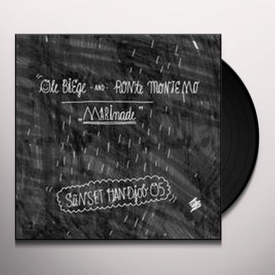 Ole Biege & Ronte Monte Mo MARINADE (GER) Vinyl Record