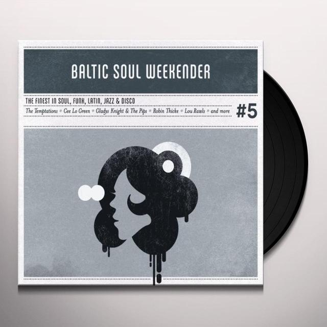 VOL. 5-BALTIC SOUL WEEKENDER Vinyl Record