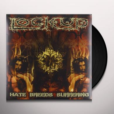 Lock Up HATE BREEDS SUFFERING Vinyl Record - Portugal Import