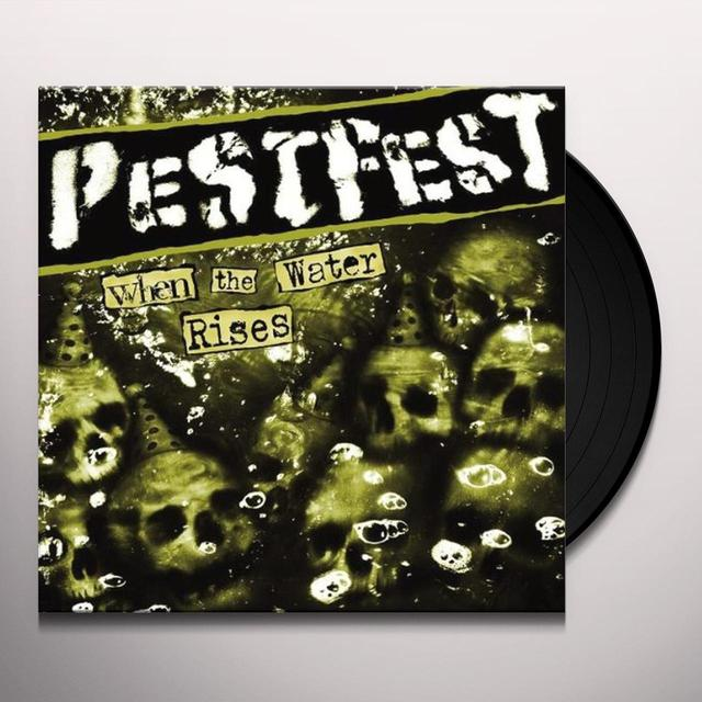 Pestfest WHEN THE WATER RISES LP + POSTER & STICKER (GER) Vinyl Record