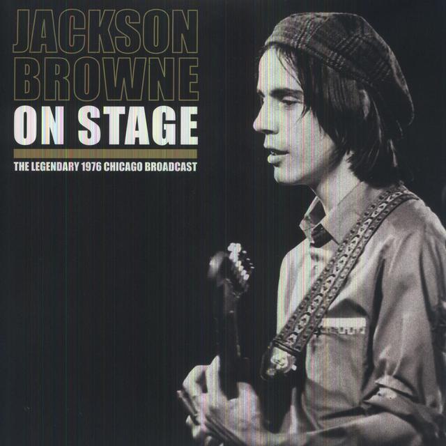 Jackson Browne ON STAGE Vinyl Record - UK Import