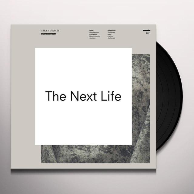 Girls Names NEXT LIFE Vinyl Record